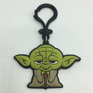 Star Wars Yoda Rubber Key Clip